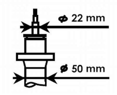 Amortyzatory Przednie KYB Volkswagen Caddy III