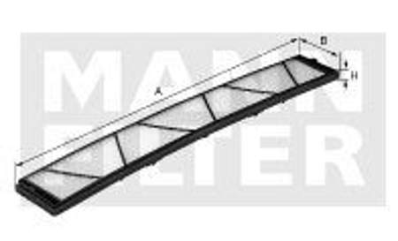 Filtr kabinowy MANN BMW X1