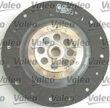 Zestaw sprzęgła Valeo Citroen C3 1.6 HDi